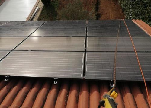 Une rénovation complète de photovoltaïque